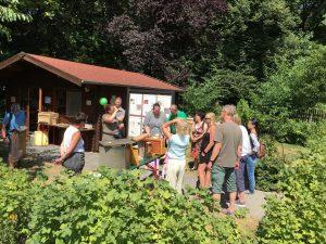 Internationaler Tag der Honigbiene 2018 Kaisergarten Oberhausen